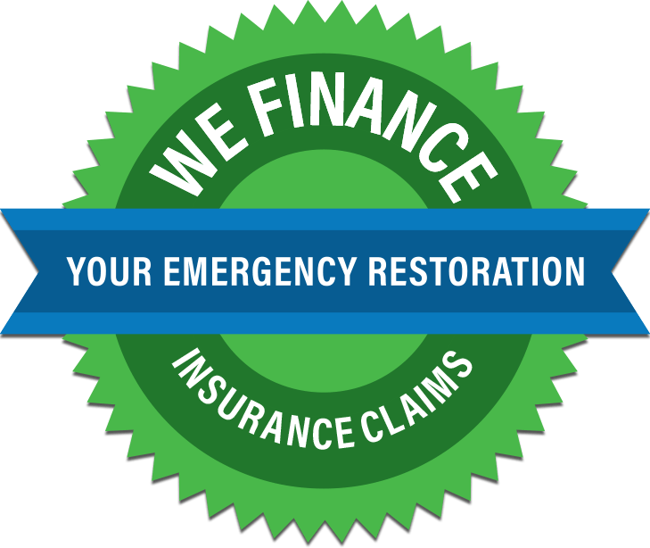 We Finance Your Emergency Restoration Insurance Claims
