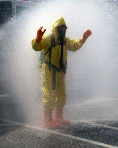 decontamination after asbestos removal services